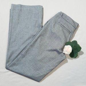 WHBM Gray Legacy Dress Pants Size 8 Long